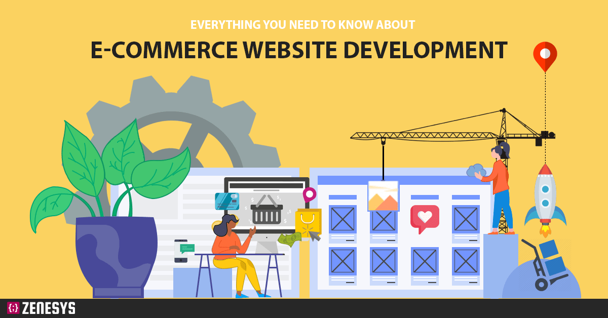 Everything you need to know about E-commerce website development