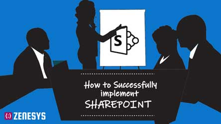 How to succesfully implement sharepoint? - Infographic