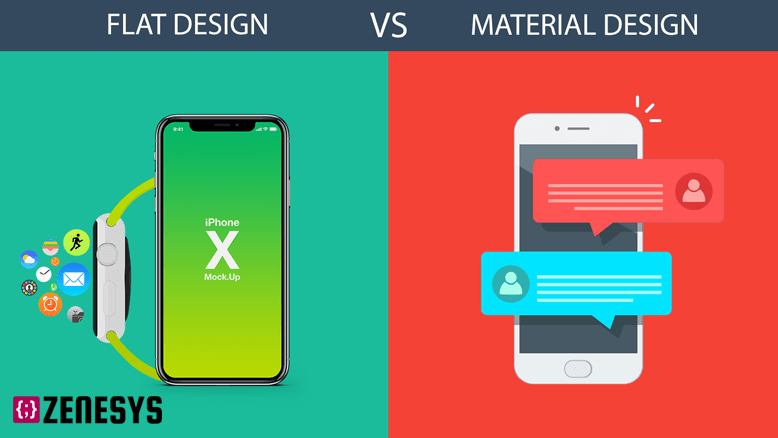 Material vs. Flat Design - What to choose?