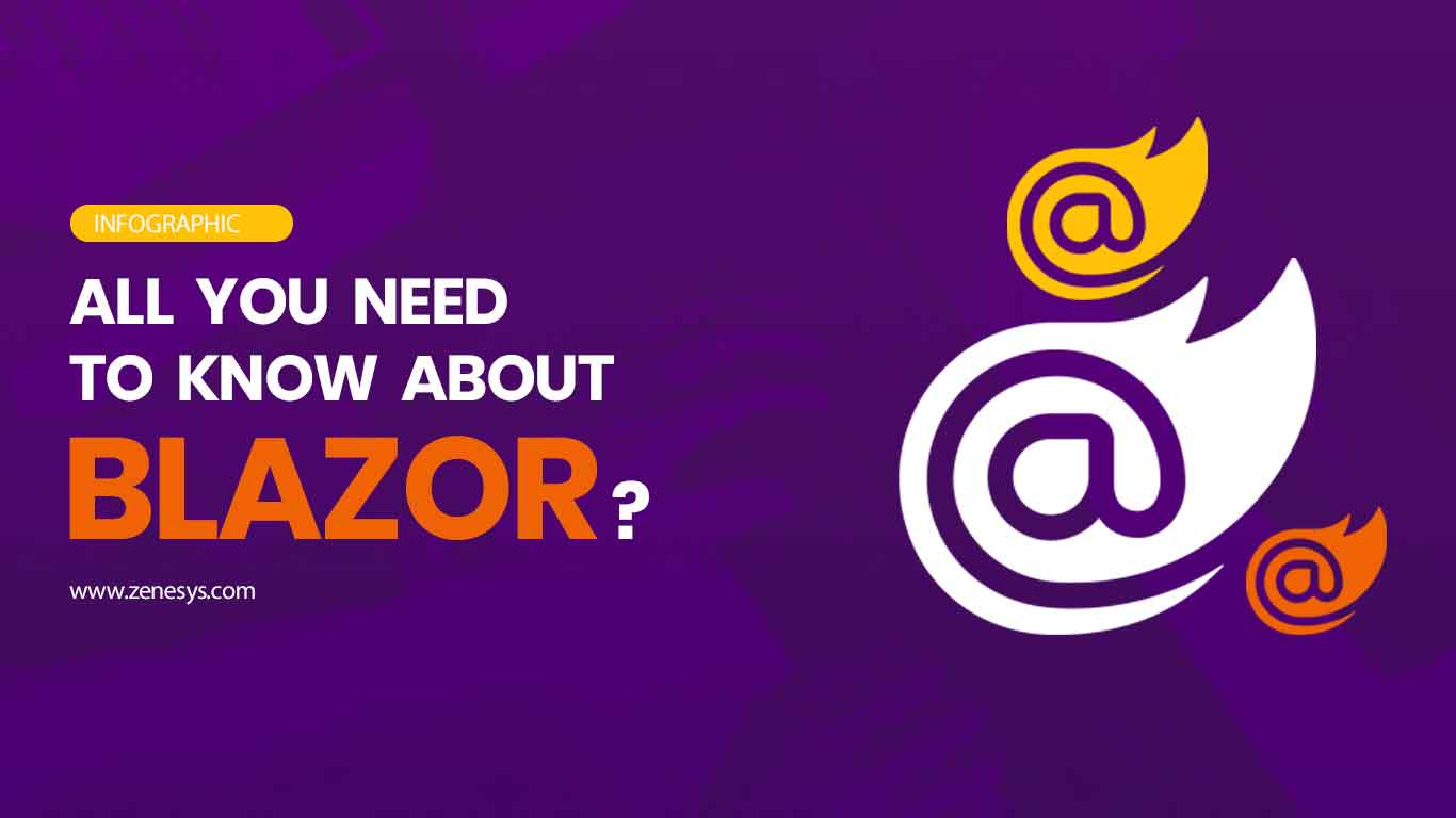 All You Need to Know About Microsoft Blazor - Infographics