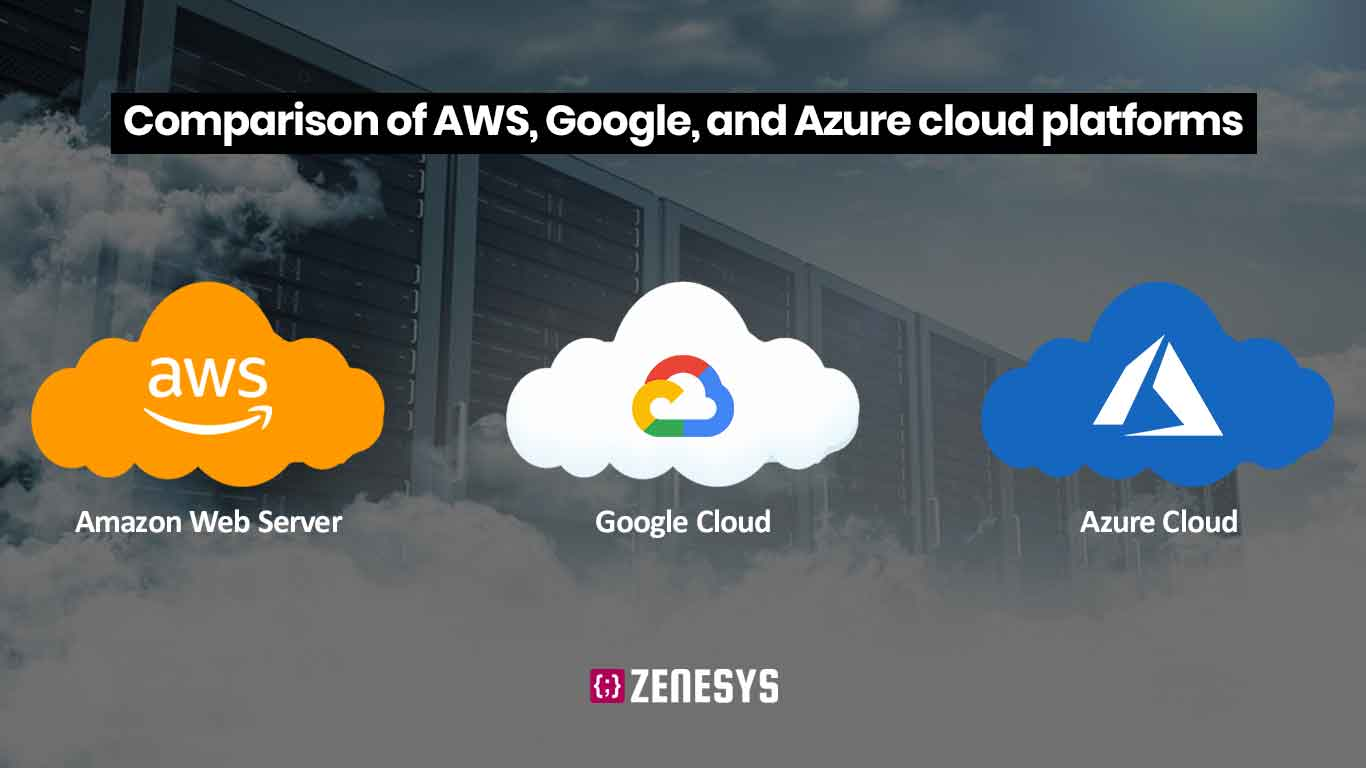 AWS vs Azure vs Google Cloud: Which Cloud Services is better for Enterprises?