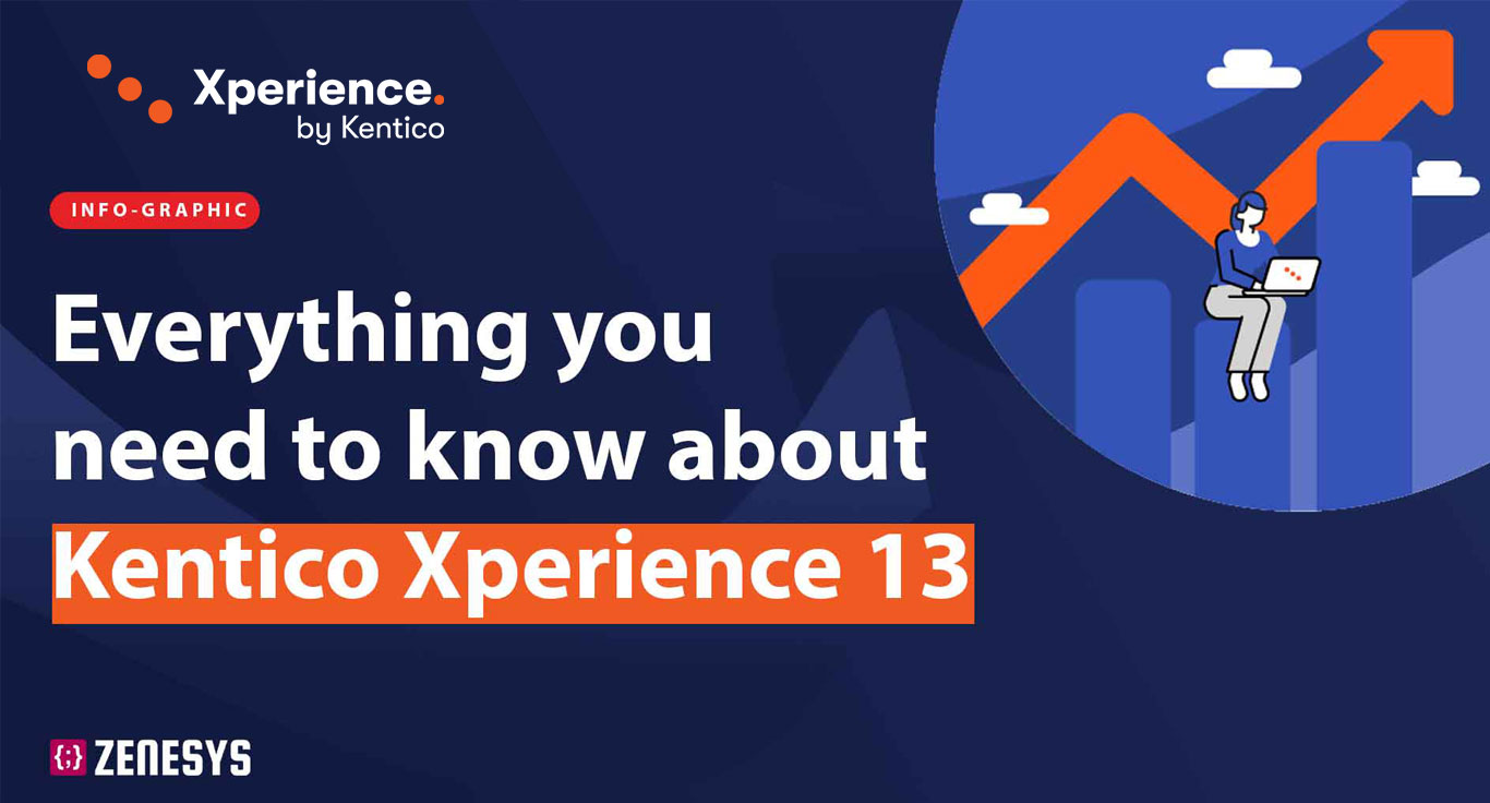 Everything you need to know about Kentico Xperience 13 – Infographics