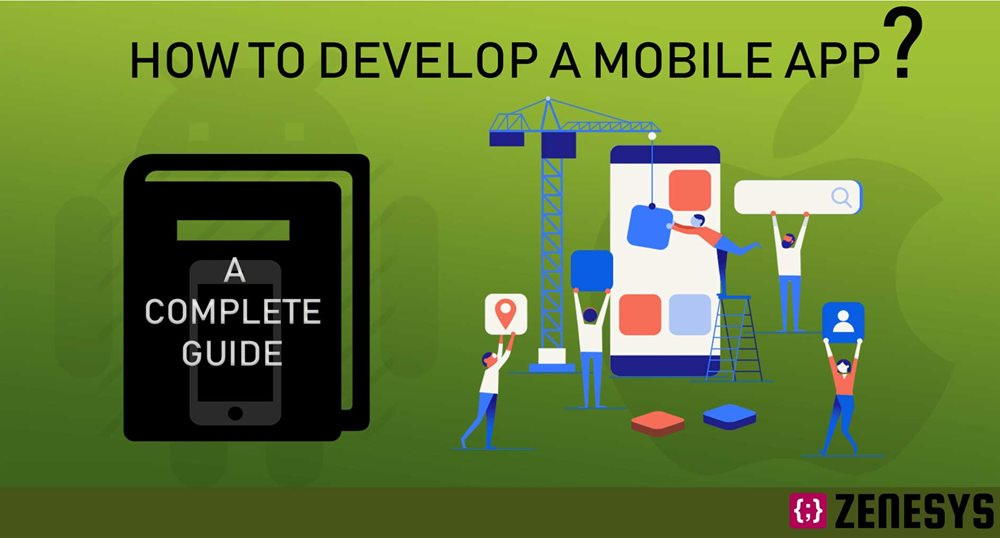 How to Develop a Mobile App : A Complete Guide